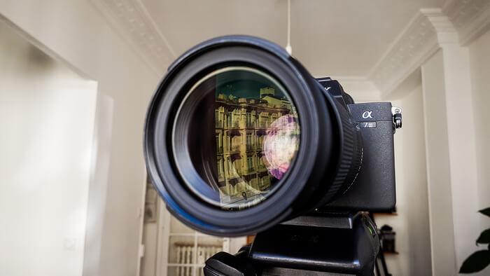 Présentation vidéo en prise de vue réelle
