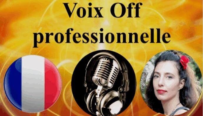 Voix OFF féminine professionnelle