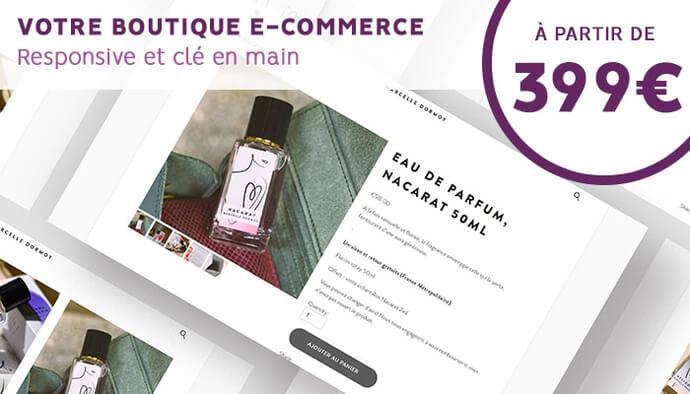 Votre boutique e-commerce, clé en main