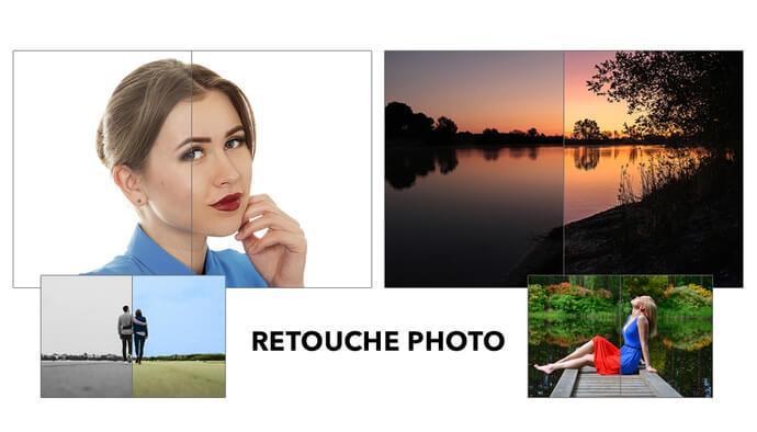 Je prends en charge vos projets de retouche photo