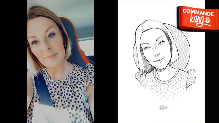 Je réaliste votre portrait / dessin