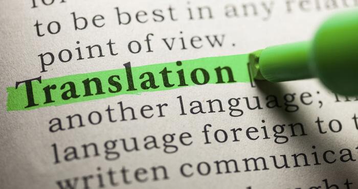 Traduction professionnelle anglais > français
