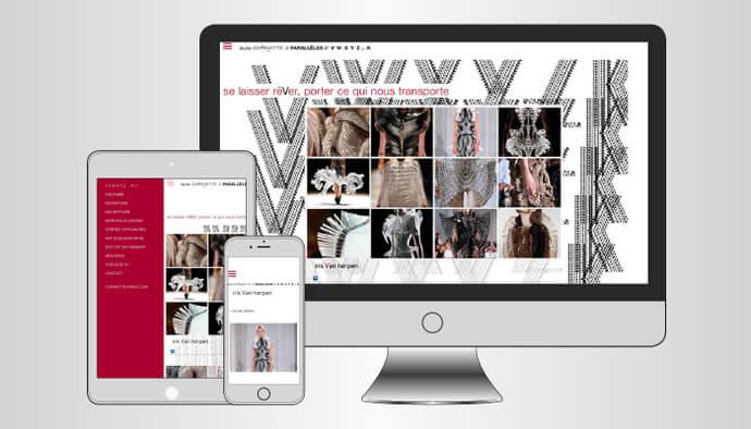 Je crée votre site responsive Tablette & Smartphone