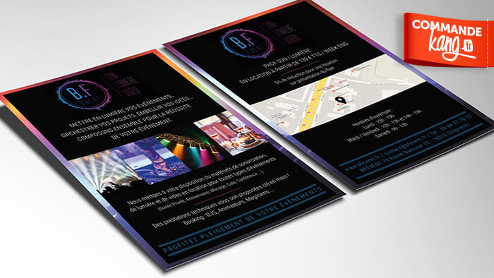 Je crée votre affiche / flyer de qualité !