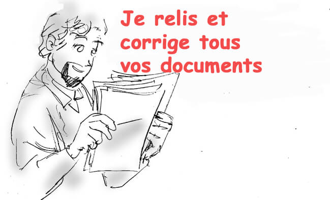 Je relie et corrige tous vos documents