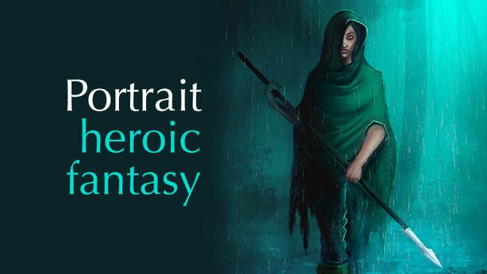 Je réalise votre Portrait heroic/fantasy