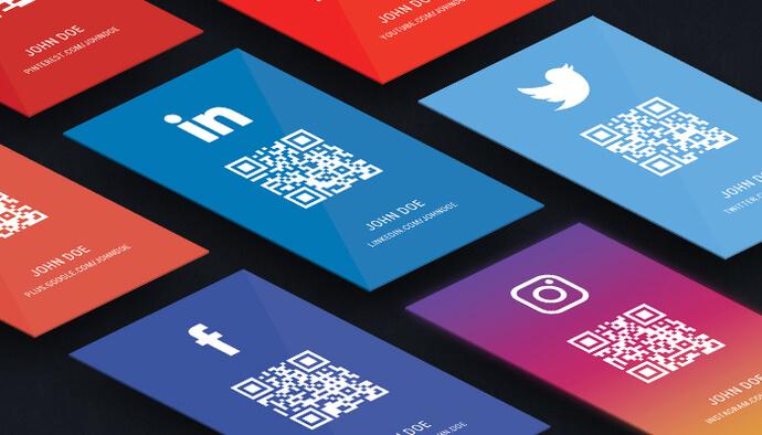 Je crée votre carte de visite Premium pour réseaux sociaux