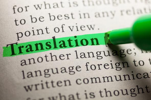Traduction de qualité Français Anglais