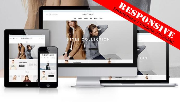 Site de vente en ligne professionnel et complet