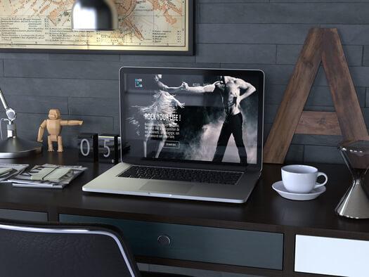 Votre site OnePage personnalisé et Responsive