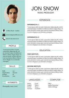 Créez votre CV PRO et décrochez votre contrat !
