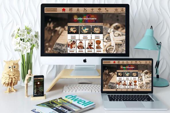 Je développe votre site One Page responsive clé en main