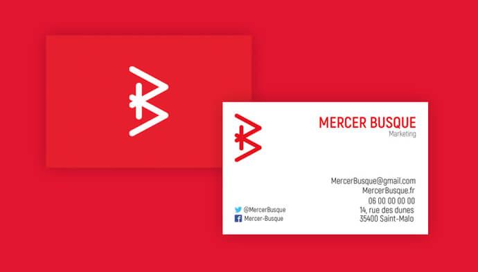 Je crée vos cartes de visite personnalisées
