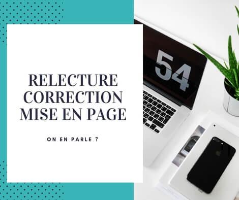 Relecture, correction et mise en page professionnelle
