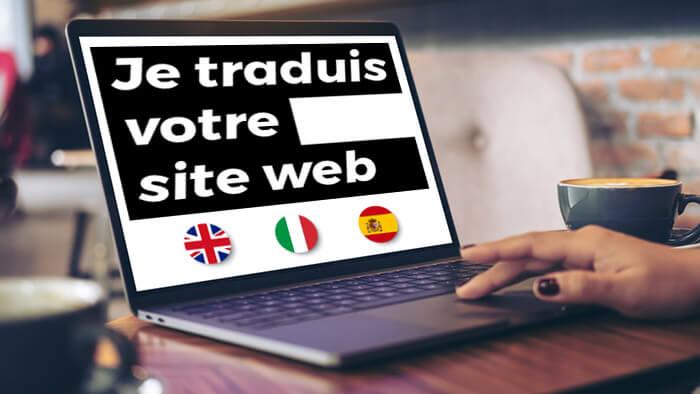 Je traduis votre site web EN/IT/ES