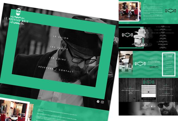 """Je crée votre site """"one page"""" design responsive !"""
