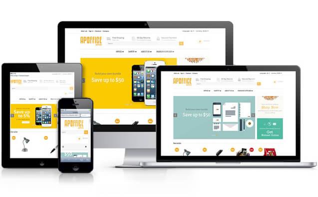 Je crée votre site/Boutique E-Commerce Responsive