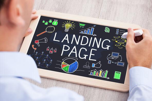 Landing Page responsive design optimisée SEO