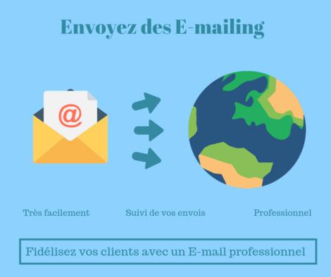 Je créé et lance votre campagne E-mailing