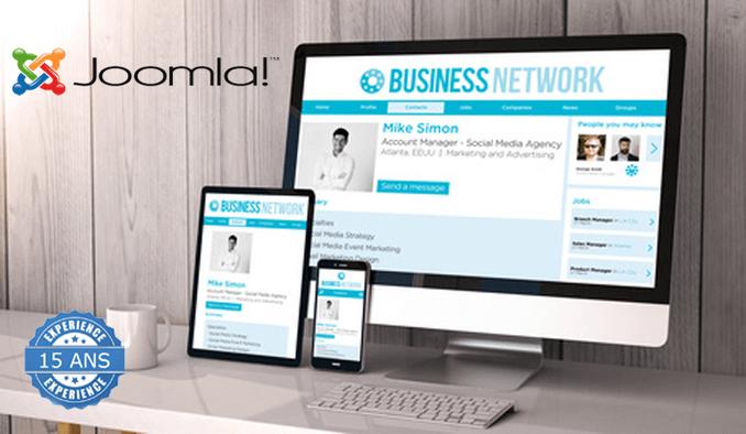 Je crée votre site web RESPONSIVE avec gestion de contenu + SEO