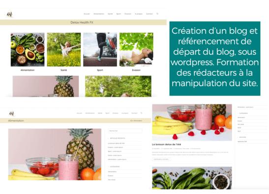 Je crée votre site web clé en main
