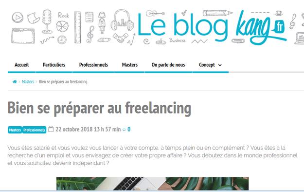 Je rédige votre article de blog