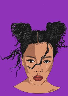 Je crée votre portrait cartoon simplifié