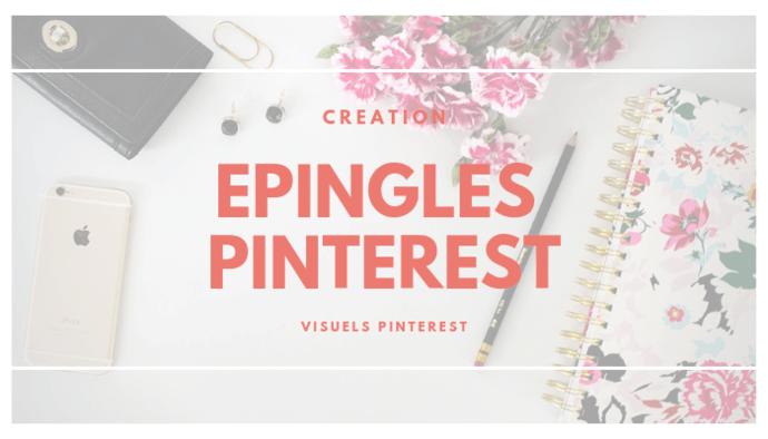 Je crée vos visuels Epingles Pinterest