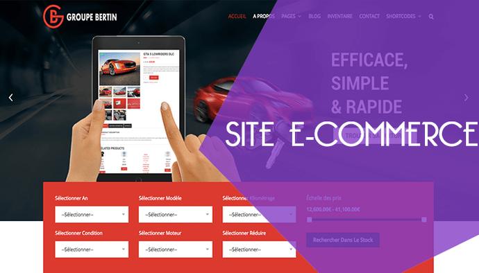 Je crée votre site e-commerce design et efficace