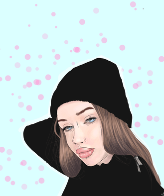 Je crée votre portrait cartoon