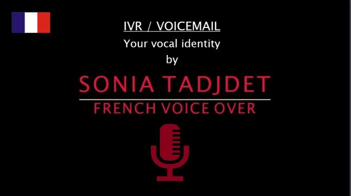 Voix féminine : IVR, Répondeur et Serveur vocal !