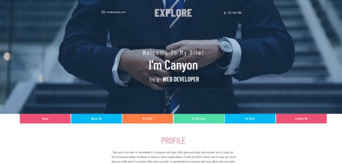 Votre site CV qui vous correspond !