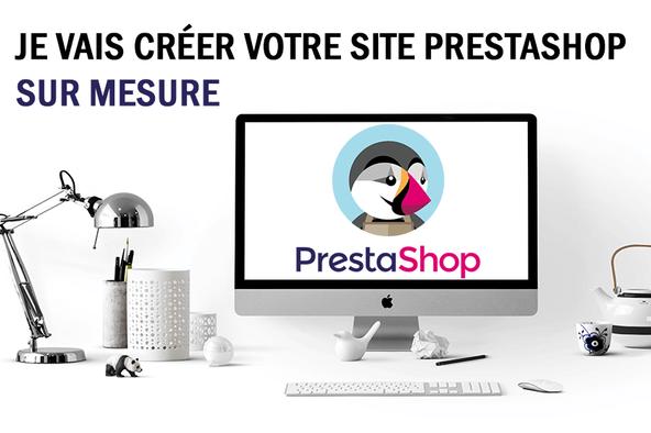 Je vais créer votre site e-commerce PrestaShop
