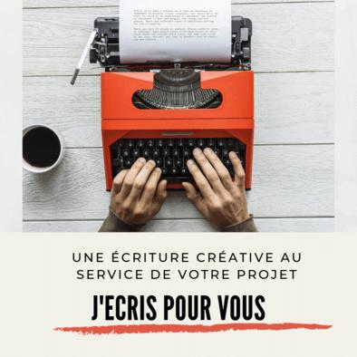 Une écriture créative à votre service