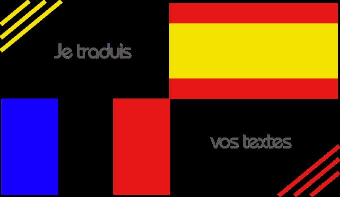 Je traduis vos textes du français à l'espagnol