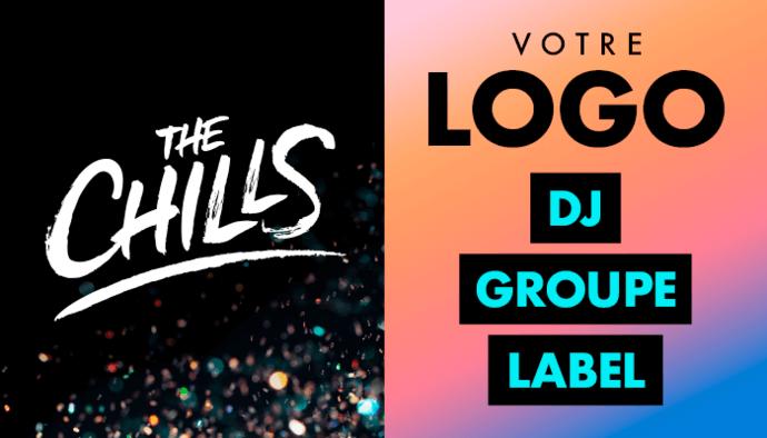 Votre logo de DJ, groupe de musique ou label