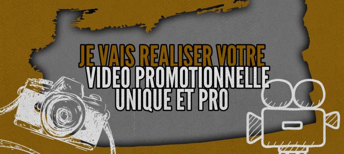Vidéo promotionnelle unique, originale et pro