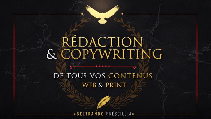 Je vais rédiger un article/écrit web copywriting