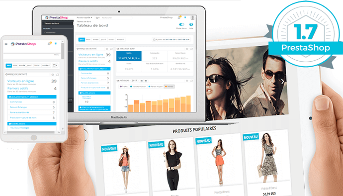 Installation boutique Prestashop 1.7