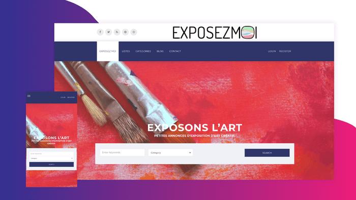 Je crée votre site web responsive et design