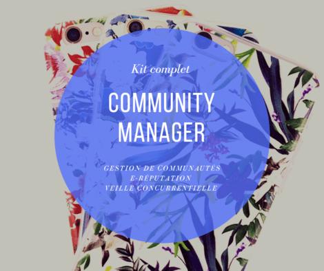Community manager : je vous crée le kit complet