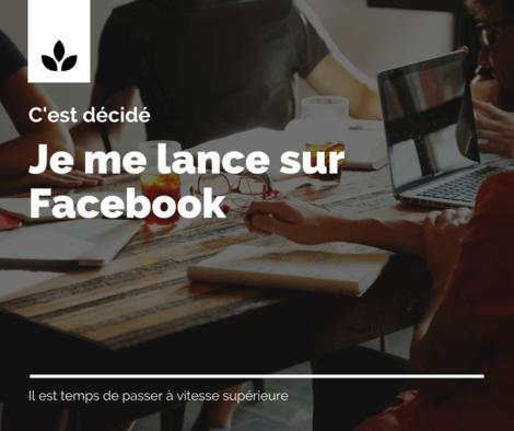 Je vous accompagne sur Facebook