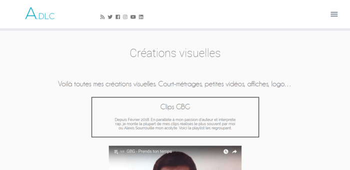 Je crée votre site One Page Responsive